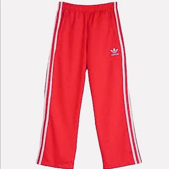 9693339960769 Adidas red firebird track pants